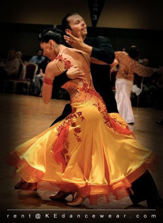 Ballroom Dress For Sale Orangered Id 232 Ke Dancewear